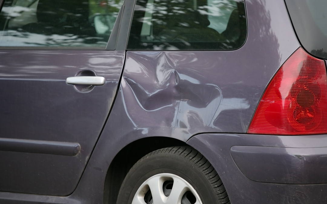 How Much Of A Dent Can A Car Cause